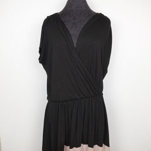 Michelle Mason Wrap Dress Silk Blend
